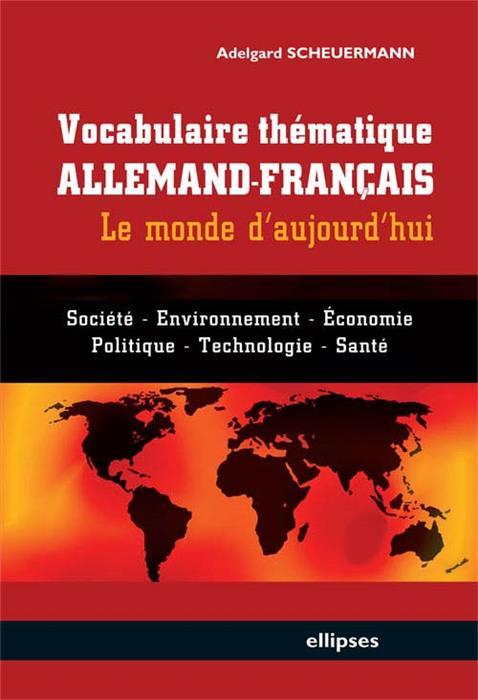 Vocabulaire thematique allemand francais le monde d for Le rotin d aujourd hui