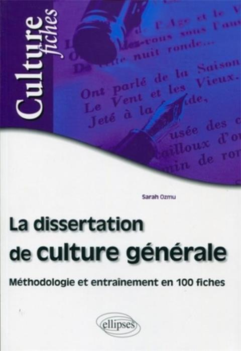 technique de la dissertation en philosophie